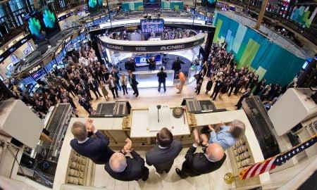 New Yorkin pörssi listautuminen kello Yhdysvallat pörssilistautuminen Wall Street