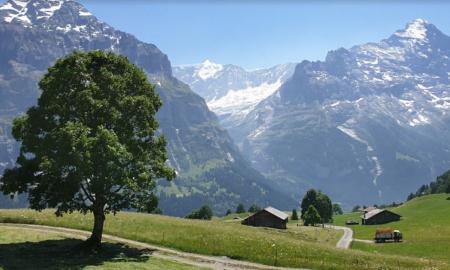 Sveitsi alpit loma matkailu Eurooppa talous