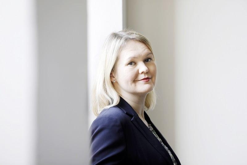 Keskuskauppakamarin johtaja Johanna Sipola