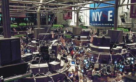 New Yorkin pörssi NYSE kaupankäynti Yhdysvallat Wall Street