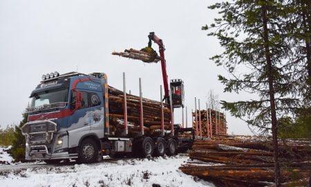 Stora Enso puukuorma metsätalous