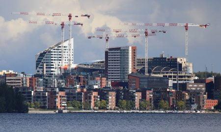 Tampere rakentaminen kaupunki asuntomarkkinat asunnot asunto kerrostalo