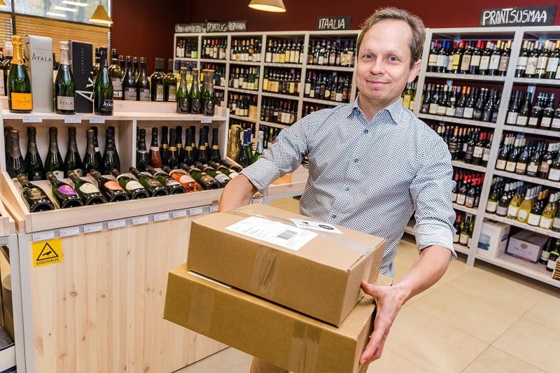Toimitusjohtaja Indrek Järma eDrinks
