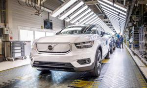 Volvo Cars autoilu sähköautot