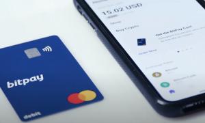 BitPay maksukortti kryptovaluutat