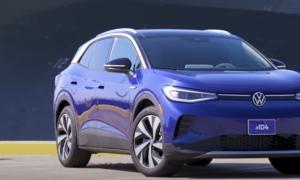 Volkswagen ID.4 sähköauto auto