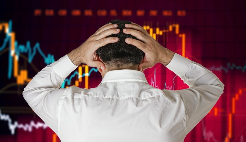 kurssiromahdus osakemarkkinat pörssi tappio epävarmuus pelkokerroin