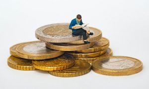 raha eurot talous
