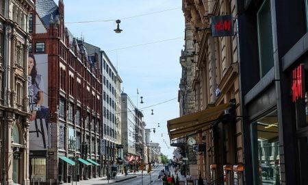 Helsinki keskusta kauppa kaupat katu