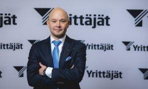 Suomen Yrittäjät puheenjohtaja Petri Salminen