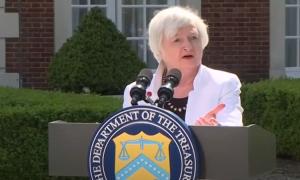 Janet Yellen valtiovarainministeri USA