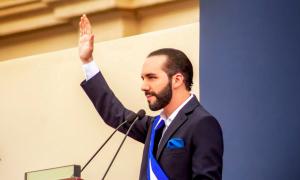 Nayib Bukele presidentti El Salvador
