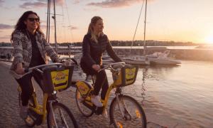 polkupyörät fillari pyöräily meri luonto talous