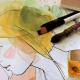 taideteos taide taulu vesivärit