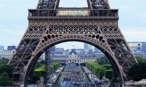 Eiffel-torni Pariisi Ranska Eurooppa euroalue