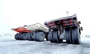 Metso Outotec kaivosala Haul Truck kaivokset