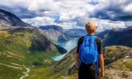 Norja pohjoismaat vaellus vuoret