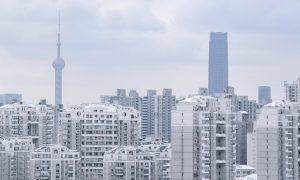 Shanghai Kiina kiinteistömarkkinat rakennukset