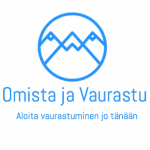 Logo ryhmälle Omista ja Vaurastu